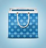 Μπλε τσάντα Στοκ εικόνα με δικαίωμα ελεύθερης χρήσης