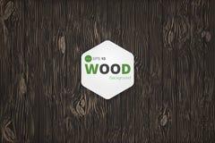 Διανυσματική ξύλινη σύσταση παλαιές επιτροπές ανασκόπησης Αναδρομική εκλεκτής ποιότητας ξύλινη σύσταση Grunge, υπόβαθρο στοκ εικόνες