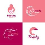 Διανυσματική ομορφιά λογότυπων Στοκ φωτογραφία με δικαίωμα ελεύθερης χρήσης