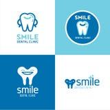 Διανυσματική οδοντιατρική λογότυπων Στοκ φωτογραφία με δικαίωμα ελεύθερης χρήσης