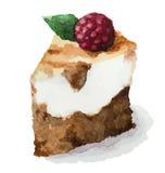 Διανυσματική πίτα watercolor Στοκ Φωτογραφίες
