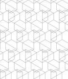 Διανυσματική περίληψη που επαναλαμβάνει το κλασσικό υπόβαθρο στο Μαύρο και το μόριο Στοκ Φωτογραφίες