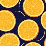Διανυσματική πορτοκαλιά άνευ ραφής σύσταση απεικόνιση αποθεμάτων