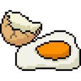 Διανυσματική ρωγμή αυγών τέχνης εικονοκυττάρου ελεύθερη απεικόνιση δικαιώματος
