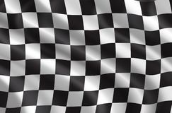 Διανυσματική σημαία φυλών συνάθροισης ή αυτοκινήτων διανυσματική απεικόνιση