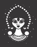 Διανυσματική σκιαγραφία σχεδίου γυναικών τσιγγάνων Στοκ εικόνα με δικαίωμα ελεύθερης χρήσης