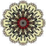 Διανυσματική στρογγυλή διακόσμηση Στοκ Εικόνα