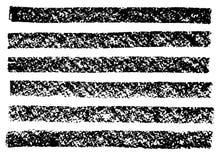 Διανυσματική συρμένη χέρι συλλογή καλλιτεχνική του ξυλάνθρακα Στοκ εικόνα με δικαίωμα ελεύθερης χρήσης