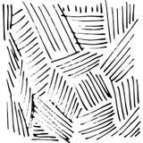 Διανυσματική συρμένη χέρι σύσταση μελανιού με το λωρίδα και τις γραμμές Στοκ εικόνα με δικαίωμα ελεύθερης χρήσης