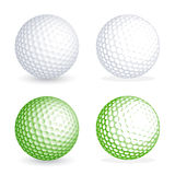 Διανυσματική σφαίρα γκολφ ελεύθερη απεικόνιση δικαιώματος