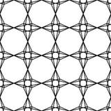 Διανυσματική σύγχρονη άνευ ραφής ιερή, γραπτή περίληψη σχεδίων γεωμετρίας Στοκ Εικόνα