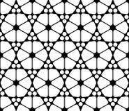 Διανυσματική σύγχρονη άνευ ραφής ιερή ισλαμική, γραπτή περίληψη σχεδίων γεωμετρίας Στοκ εικόνα με δικαίωμα ελεύθερης χρήσης