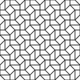Διανυσματική σύγχρονη άνευ ραφής trippy, γραπτή περίληψη σχεδίων γεωμετρίας Στοκ φωτογραφία με δικαίωμα ελεύθερης χρήσης