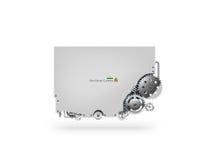 Διανυσματική σύνθετη μηχανή Στοκ φωτογραφίες με δικαίωμα ελεύθερης χρήσης