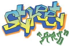 Διανυσματική τέχνη οδών γκράφιτι Στοκ φωτογραφία με δικαίωμα ελεύθερης χρήσης