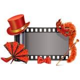 Διανυσματική ταινία θεάτρων διανυσματική απεικόνιση