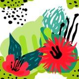 Διανυσματική τυποποιημένη άνευ ραφής hand-drawn απεικόνιση υποβάθρου σχεδίων Απλή μορφή, φωτεινό σχέδιο Στοκ Εικόνες