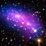Διανυσματική φωτεινή ζωηρόχρωμη απεικόνιση κόσμου Αφηρημένο κοσμικό υπόβαθρο με τα αστέρια Μερικά στοιχεία αυτής της εικόνας που  Στοκ φωτογραφία με δικαίωμα ελεύθερης χρήσης