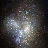 Διανυσματική φωτεινή ζωηρόχρωμη απεικόνιση κόσμου Αφηρημένο κοσμικό υπόβαθρο με τα αστέρια Μερικά στοιχεία αυτής της εικόνας που  Στοκ εικόνες με δικαίωμα ελεύθερης χρήσης