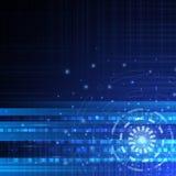 Διανυσματική ψηφιακή τεχνολογία ταχύτητας, αφηρημένο υπόβαθρο Στοκ φωτογραφία με δικαίωμα ελεύθερης χρήσης