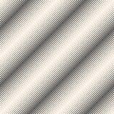 Διανυσματικοί μονοχρωματικοί ημίτονί άνευ ραφής σχέδιο, κύκλοι & σημεία, dia διανυσματική απεικόνιση