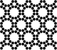 Διανυσματικοί σύγχρονοι άνευ ραφής ιεροί κύκλοι σχεδίων γεωμετρίας, γραπτή περίληψη Στοκ εικόνες με δικαίωμα ελεύθερης χρήσης