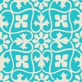 Διανυσματικός άνευ ραφής floral ζωηρόχρωμος τρύγος σχεδίων Στοκ Φωτογραφίες