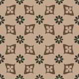 Διανυσματικός άνευ ραφής floral τρύγος σχεδίων Στοκ Εικόνα