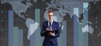 διανυσματικός άσπρος κόσμος χαρτών ανασκόπησης απομονωμένος απεικόνιση Επιχείρηση, παγκοσμιοποίηση, έννοια κεφαλαιοκρατίας στοκ φωτογραφία