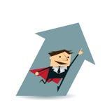 Διανυσματικός έξοχος επιχειρηματίας απεικόνισης Διανυσματική απεικόνιση