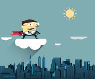 Διανυσματικός έξοχος επιχειρηματίας απεικόνισης Απεικόνιση αποθεμάτων