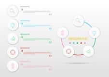 Διανυσματικός αριθμός ο διαγραμμάτων σχεδιαγράμματος ροής της δουλειάς Infographic απεικόνισης Στοκ Εικόνες
