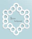 Διανυσματικό γκρίζο celi κύκλων   Στοκ εικόνες με δικαίωμα ελεύθερης χρήσης
