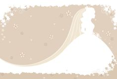 διανυσματικός γάμος πρόσ&kap Στοκ εικόνες με δικαίωμα ελεύθερης χρήσης