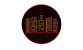 Διανυσματικός εικονογράφος πόλεων διανυσματική απεικόνιση
