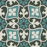 Διανυσματικός ζωηρόχρωμος τρύγος σχεδίων κρητιδογραφιών άνευ ραφής floral Στοκ Εικόνα