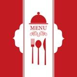 Διανυσματικός κατάλογος επιλογής εστιατορίων Στοκ Φωτογραφία