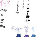 Διανυσματικός ΚΑΦΕΣ λογότυπων logotype Απεικόνιση αποθεμάτων