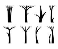 Διανυσματικός κορμός δέντρων απεικόνισης ελεύθερη απεικόνιση δικαιώματος