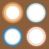 Διανυσματικός κλασικός σχεδίων κύκλων Στοκ φωτογραφίες με δικαίωμα ελεύθερης χρήσης