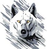 διανυσματικός λύκος Στοκ Φωτογραφίες