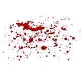 Διανυσματικός παφλασμός αίματος κόκκινοι παφλασμοί Στοκ φωτογραφία με δικαίωμα ελεύθερης χρήσης