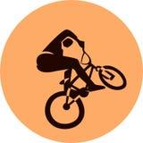 Διανυσματικός δρομέας ποδηλάτων Στοκ Εικόνες