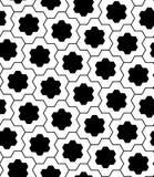 Διανυσματικός σύγχρονος άνευ ραφής γρίφος σχεδίων γεωμετρίας Στοκ φωτογραφίες με δικαίωμα ελεύθερης χρήσης