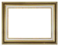διανυσματικός τρύγος απεικόνισης πλαισίων χρυσός Στοκ Εικόνες