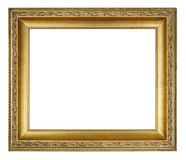διανυσματικός τρύγος απεικόνισης πλαισίων χρυσός Στοκ φωτογραφίες με δικαίωμα ελεύθερης χρήσης