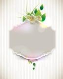 διανυσματικός τρύγος λουλουδιών έννοιας ανασκόπησης ελεύθερη απεικόνιση δικαιώματος