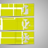 Διανυσματικός φάκελος για το σχέδιό σας Στοκ Εικόνες