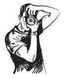 Διανυσματικός φωτογράφος διανυσματική απεικόνιση