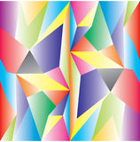 Διανυσματικός χαμηλός πολυ Αφηρημένο Polygonal γεωμετρικό υπόβαθρο τριγώνων Στοκ εικόνες με δικαίωμα ελεύθερης χρήσης